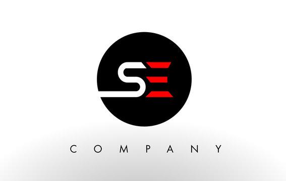 SE Logo.  Letter Design Vector.