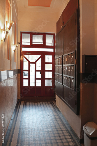 Entrance corridor stock photo and royalty free images on pic 137313744 - Corridor entrance ...
