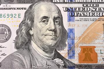 Benjamin Franklin face