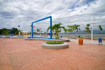 Parque Alameda am Hafen von Santiago de Cuba