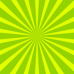 Green radial background