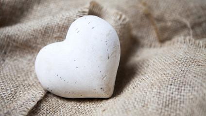 cœur de pierre blanche