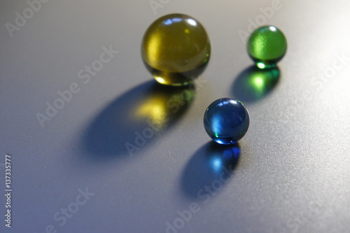 Quot decorative colored glass balls stock photo and royalty