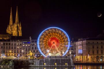 illumination noel bayonne 2018 Observation Wheel photos, royalty free images, graphics, vectors  illumination noel bayonne 2018