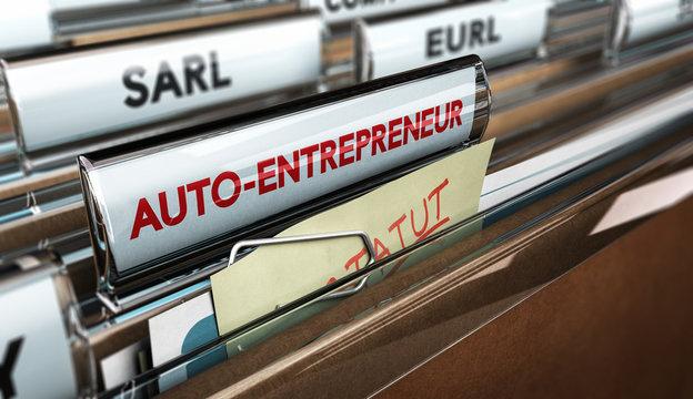 Dossier Auto-Entrepreneur, Création d'Entreprise et Forme Juridique