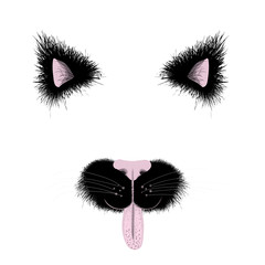 Funny cat face items