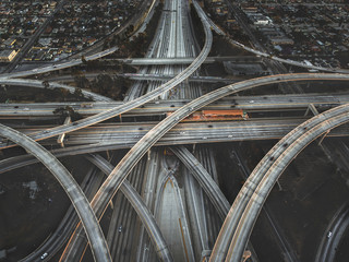 Road infrastructure, Los Angeles, California, United States of America