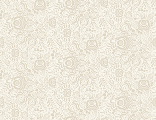 Floral vintage rustic seamless pattern. Background can be used for wallpaper, fills, web page, surface textures.
