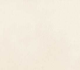 True art canvas primed for painting with natural small scratches. Warm white.