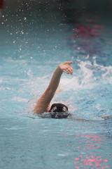 nageur en piscine