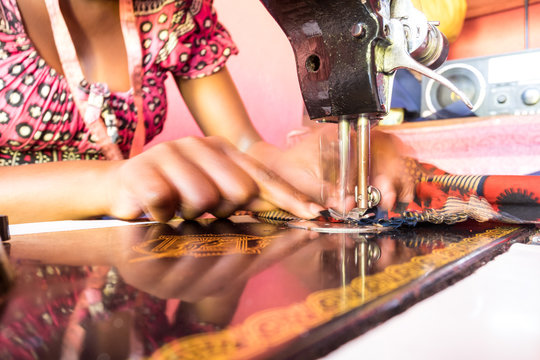 Sewing machine and tailor
