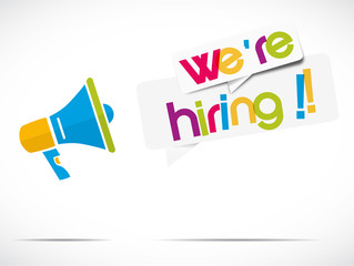 mégaphone : we're hiring