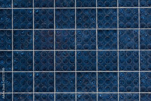 Retro fliesen blau stockfotos und lizenzfreie bilder auf bild 137377195 - Fliesen blaum ...