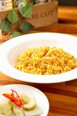 curry bokkeumbap. curry Fried Rice