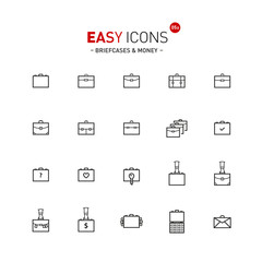 Easy icons 05a Briefcases