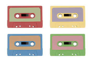 Set of colored tapes