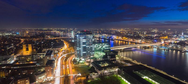 Köln Stadtpanorama - Köln Deutz