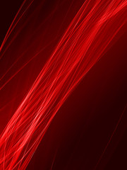 Creative colorful abstract background with light lines