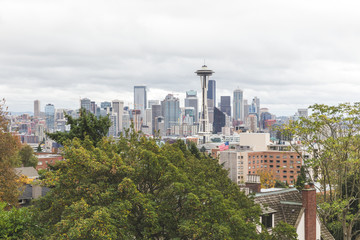 Downtown Seattle and the Space Needle