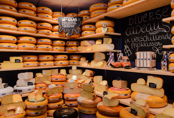 Fototapeta Cheese Shop Leeuwarden Netherlands