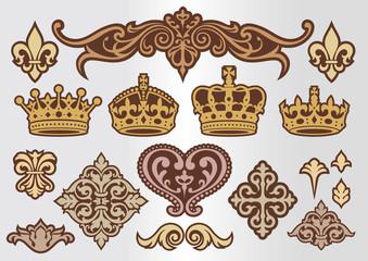 王冠 飾りセット