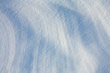 snow texture top view background