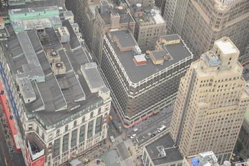 vistas de Manhathan desde el edificio empire state, Nueva York, USA