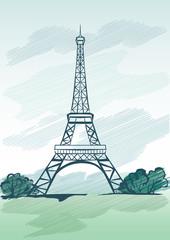Eyfel kulesi (Teknik çizim)