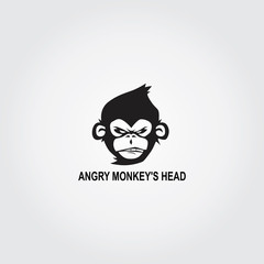 Angry Monkey's Head