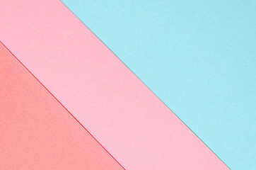 background of colored paper geometric shapes