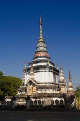 Pagoda at  Chiang Mai,Thailand.