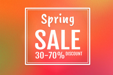 Spring sale background with colorful background. banners. Wallpaper. flyers, invitation, posters, brochure, voucher discount.