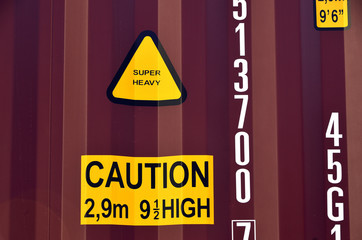 caution sign , High