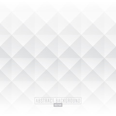 White abstract diamond background