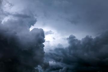 Door stickers Heaven Dramatic Clouds Background