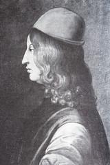 Portrait of the philosopher Pico della Mirandola