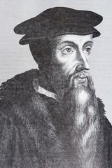 Portrait of the philosopher Jean Cauvin