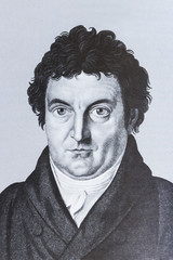 Portrait of the philosopher Johann Gottlieb Fichte