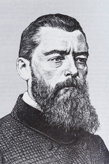 Portrait of the philosopher Ludwig Feuerbach