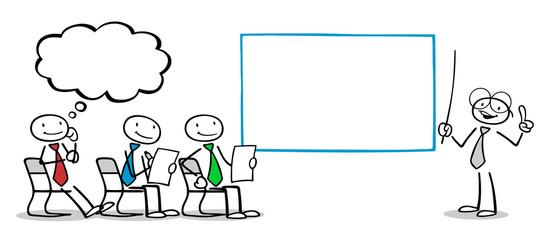 Business Leute bei Schulung im Unterricht
