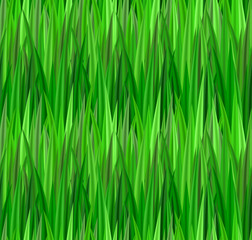 Seamless texture with green grass. Lawn. Vector pattern for your creativity
