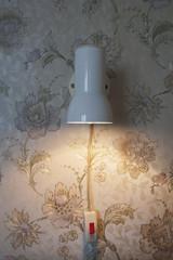 Reading light in a hotel room; Odessa, Ukraine