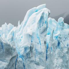 Close up of Moreno Glacier, Los Glaciares National Park; Santa Cruz province, Argentina