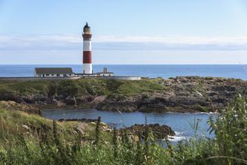 Buchan Ness Lighthouse, Moray Firth Coast; Aberdeenshire, Scotland