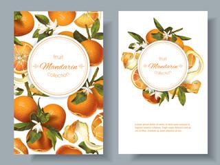 Mandarin vertical banners