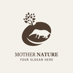 Shrew Mother Nature Logo