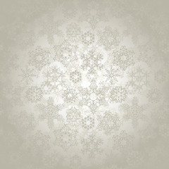 Seamless wallpaper with snowflakes. Christmas background in pastel colors
