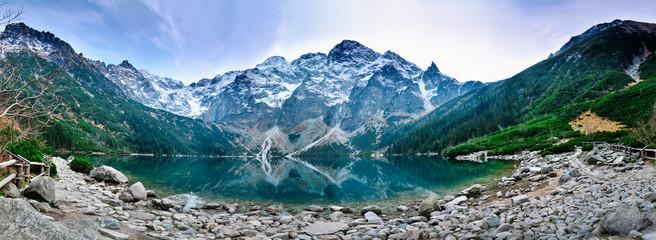 Fototapeta Tatra mountains Morskie Oko lake obraz