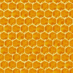 Honeycomb seamless pattern.