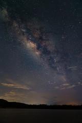 Landscape of The Milky Way Star beautiful sky